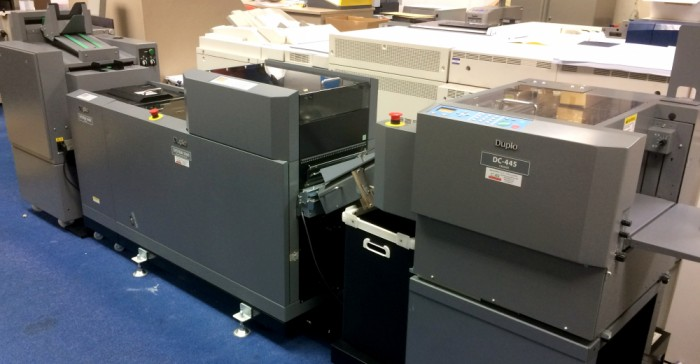 Duplo Bookletmaker serviced