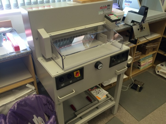 Ideal 4850-95 EP Guillotine fully serviced