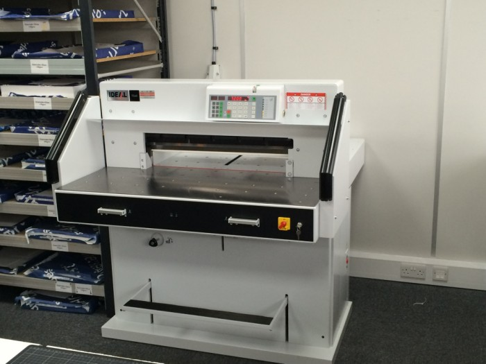 Ideal 7260 Guillotine serviced
