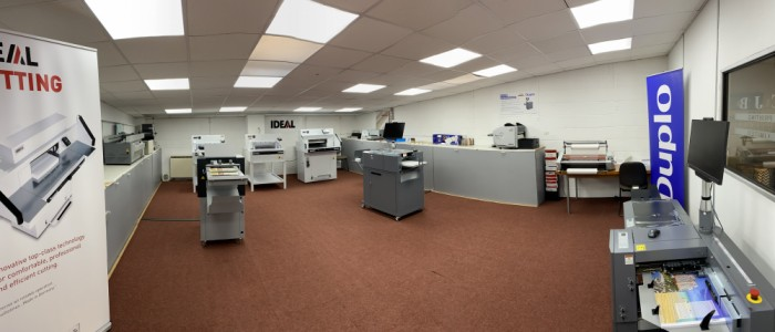 One of our ever changing showrooms