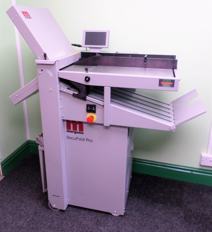 Morgana Docufold Paper Folder Refurbished