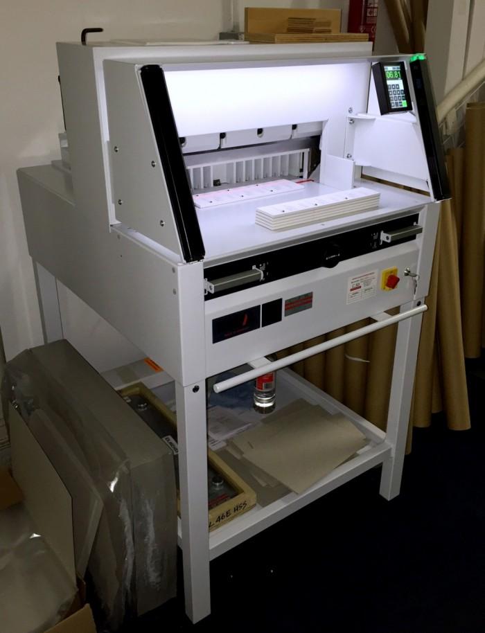 Ideal 4860 installed at customer