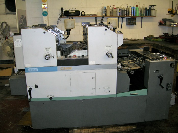 Great memories of Hamada Press in our workshop 20 years ago