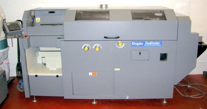 Duplo DPB-500 DuBinder refurbished
