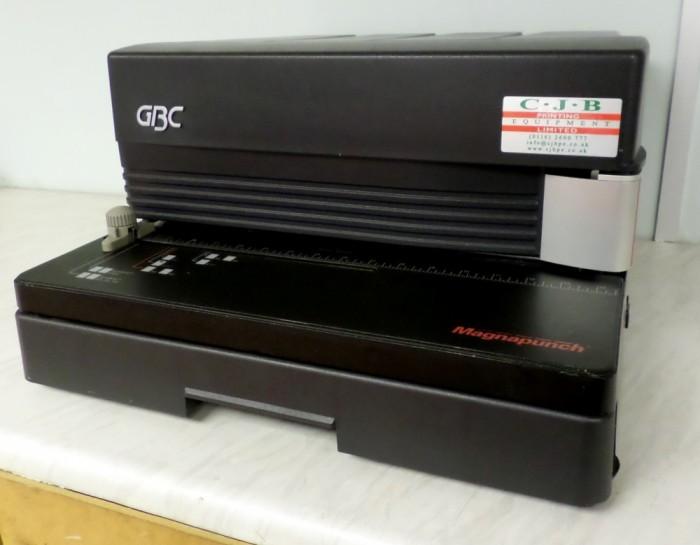 GBC Magnapunch serviced