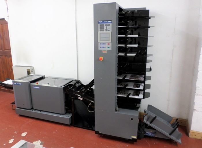 Duplo System 2000 Bookletmaker in our showroom