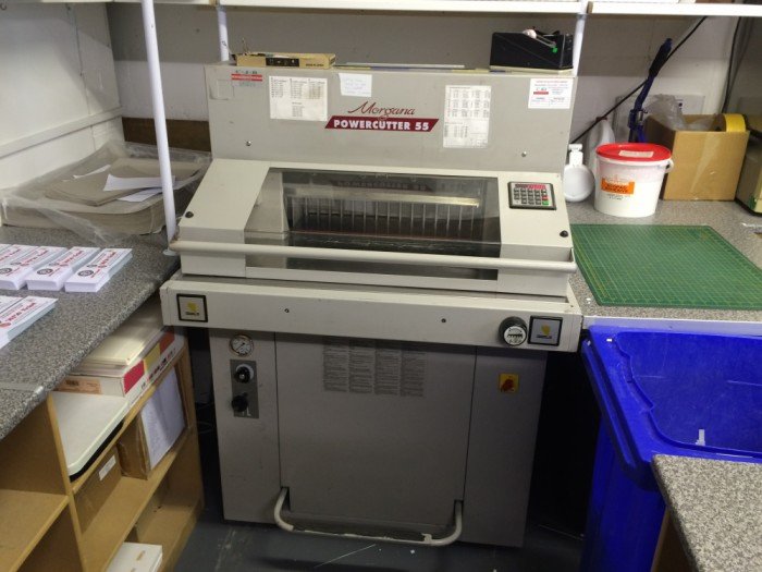 EBA Powercutter 55 Safety Check Complete