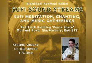 sufi sound streams glastonbury mikail rose