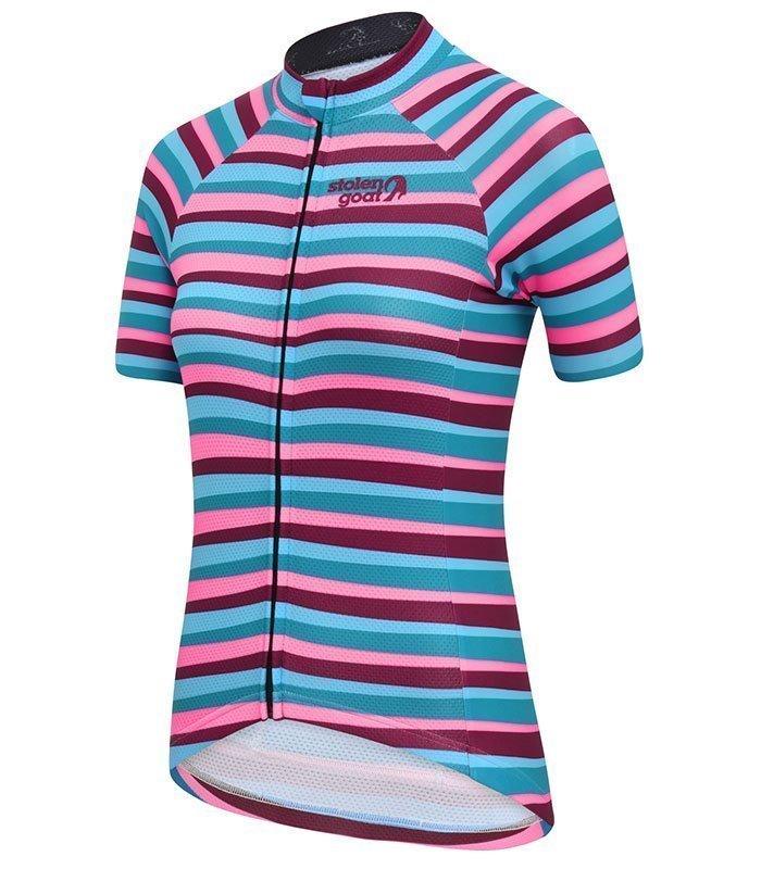 stolen goat womens slant cycling jersey