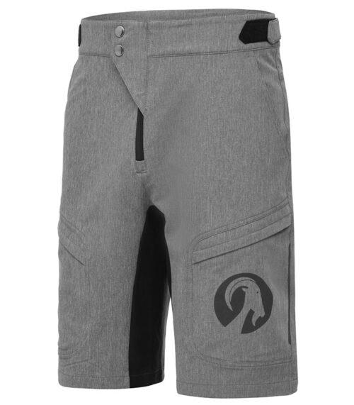 stolen goat mens grey gravel shorts