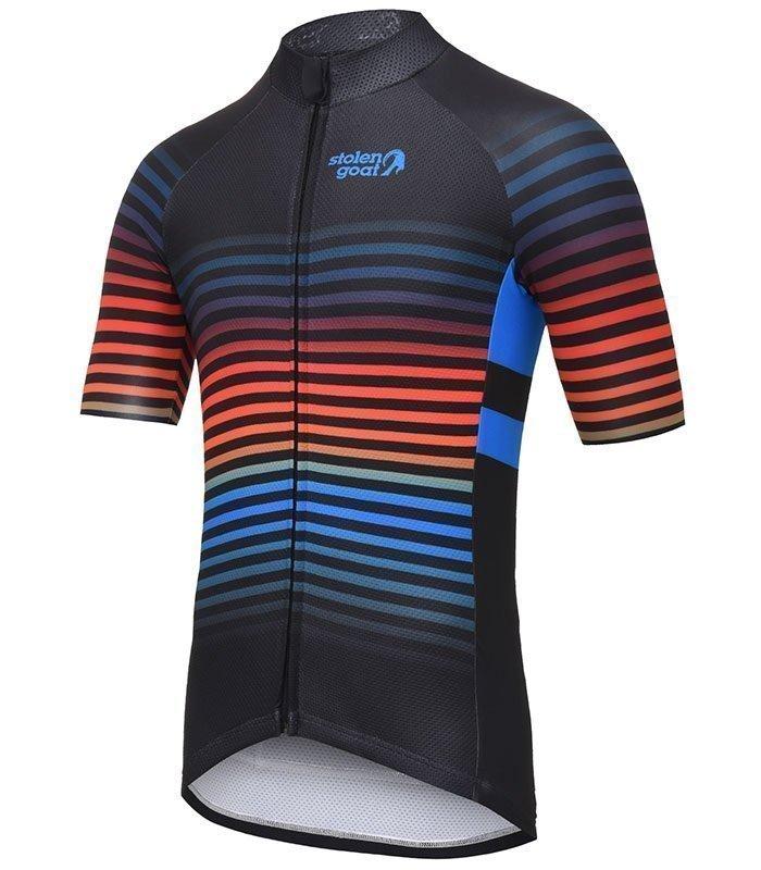 stolen goat descent cycling jersey
