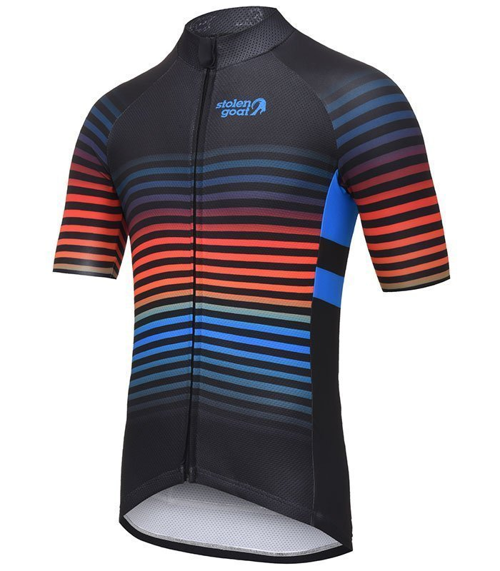 stolen goat descent cycling jersey