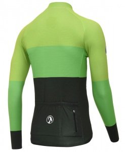 stolen goat industry green cycling jersey