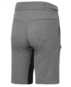 stolen goat womens grey gravel shorts
