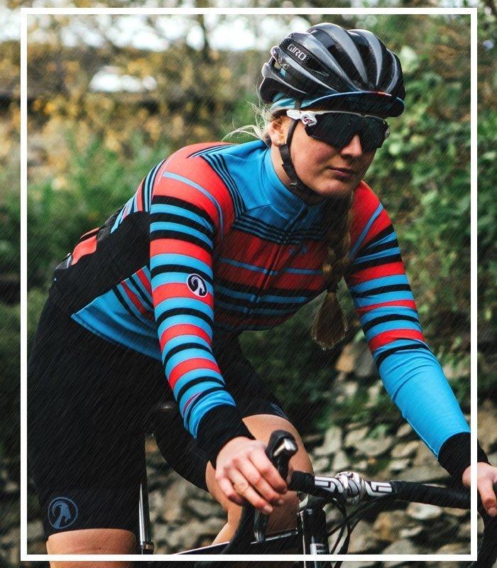 Water-Resistant Cycling Jerseys
