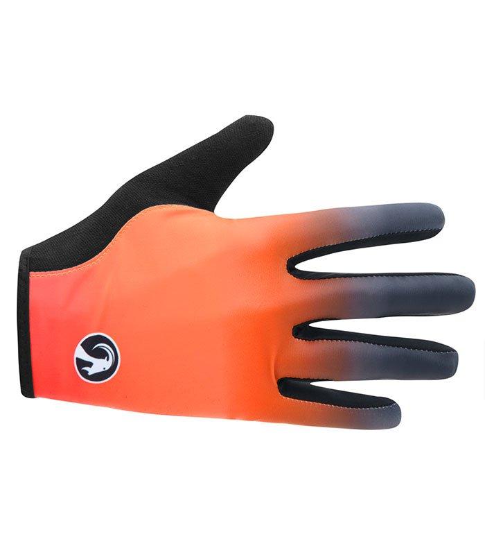 stolen goat ayoki orange lightweight cycling gloves