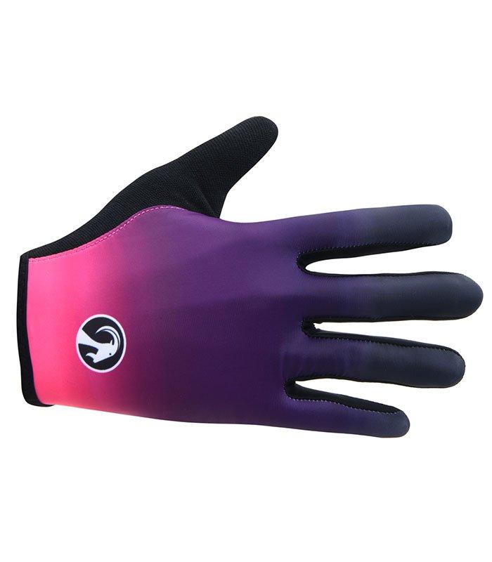 stolen goat ayoki pink lightweight cycling gloves
