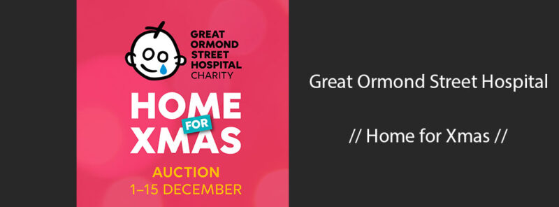 great ormond street hospital home for xmas online auction 2020
