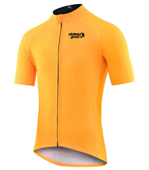 stolen goat fitch mango men's corre bodyline cycling jersey front