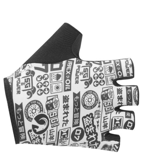 Stolen Goat takashi cycling mitts top view