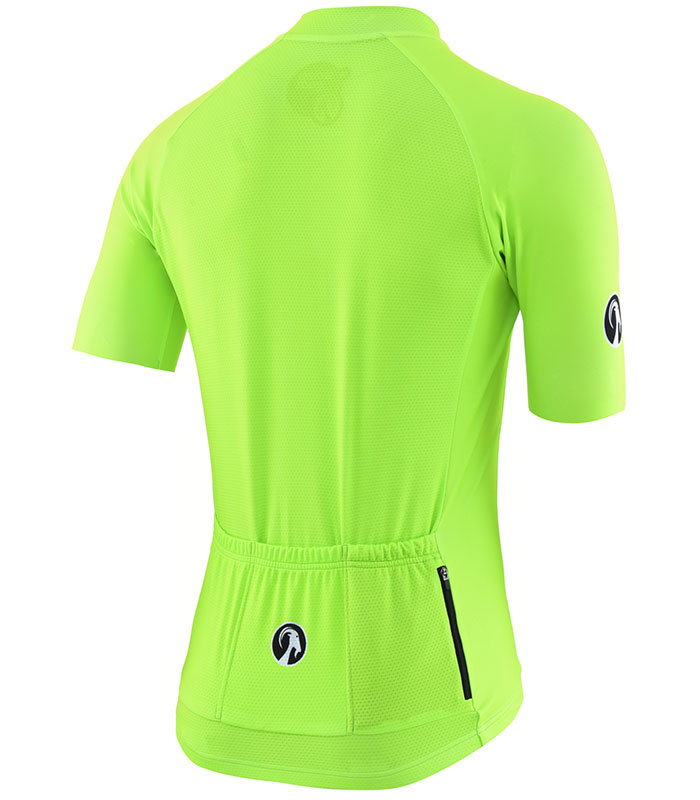 stolen goat fitch green men's CORE bodyline cycling jersey rear