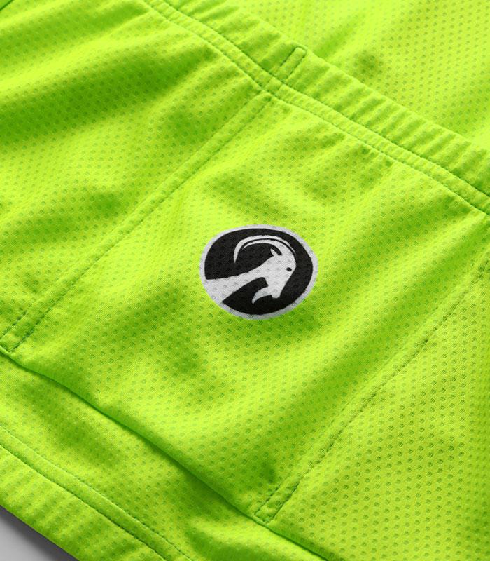Stolen Goat Fitch Green Bodyline LS jersey rear pockets