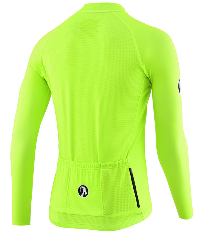 Stolen Goat Fitch Green Bodyline LS jersey rear