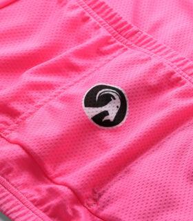 Stolen Goat Fitch Pink men's core bodyline cycling jersey rear logo