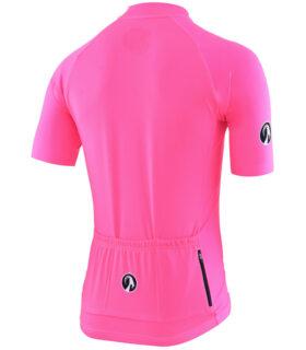 Stolen Goat Fitch Pink men's core bodyline cycling jersey rear