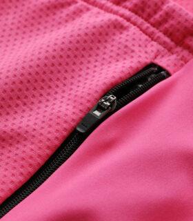 Stolen Goat Fitch Pink Bodyline LS jersey rear zip pocket