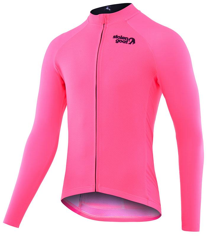 Stolen Goat Fitch Pink Bodyline LS jersey front