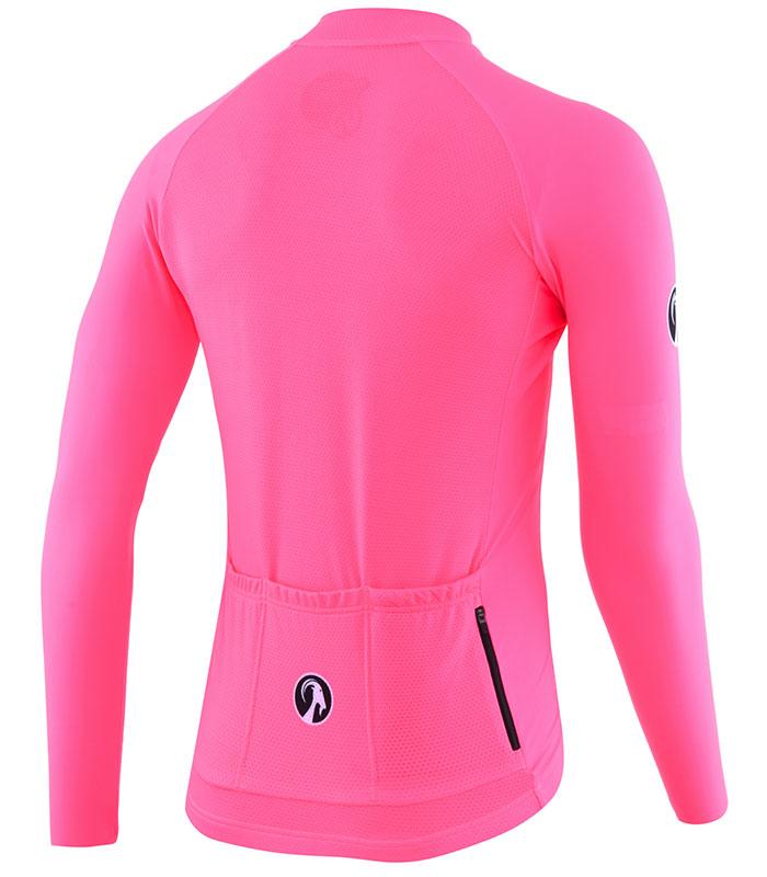 Stolen Goat Fitch Pink Bodyline LS jersey rear