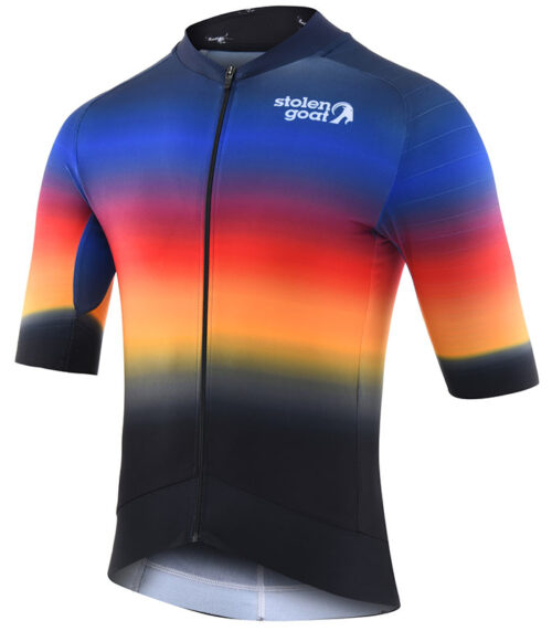 Stolen Goat Hot Sauce epic cycling jersey front