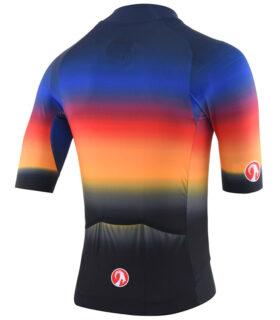 Stolen Goat Hot Sauce epic cycling jersey rear