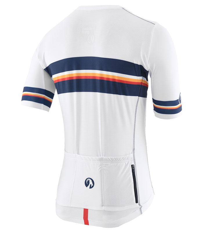 Stolen Goat Neat White men's climbers cycling jersey rear