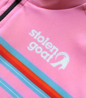 Stolen Goat Spectre epic cycling jersey front logo