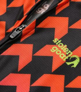 Stolen Goat Supernaut Hot men's climbers cycling jersey zipper