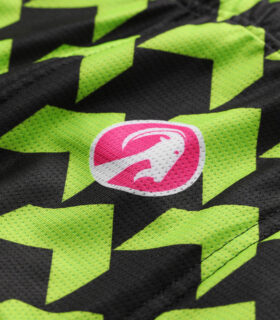 Stolen Goat Supernaut Hot men's climbers cycling jersey rear logo