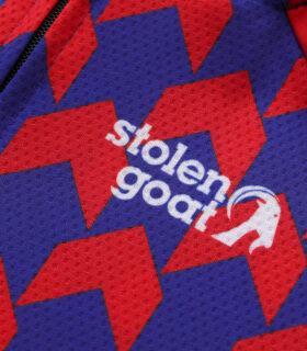 Stolen Goat Supernaut Red Blue jersey logo
