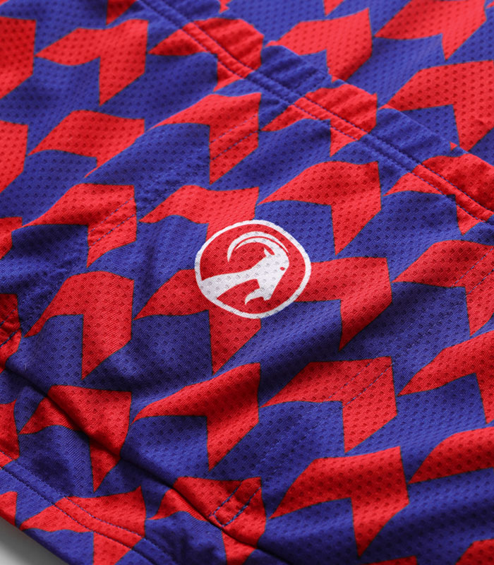 Stolen Goat Supernaut Red Blue jersey rear pockets