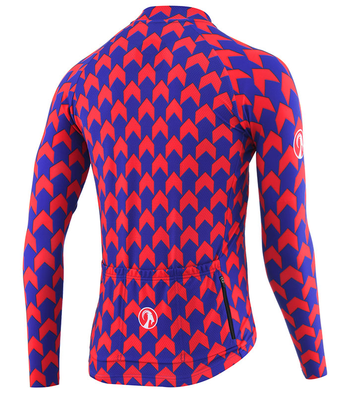 Stolen Goat Supernaut Red Blue jersey rear