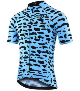 Stolen Goat Tenement men's bodyline cycling jersey front