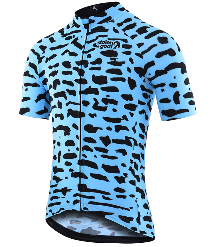 Stolen Goat Tenement men's bodyline cycling jersey front