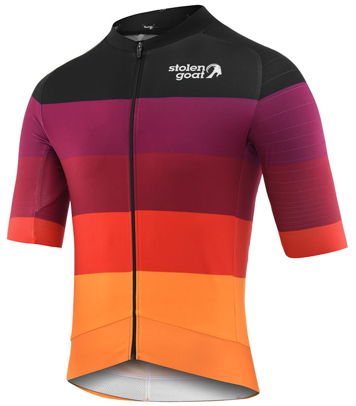 Stolen Goat Zing epic cycling jersey front