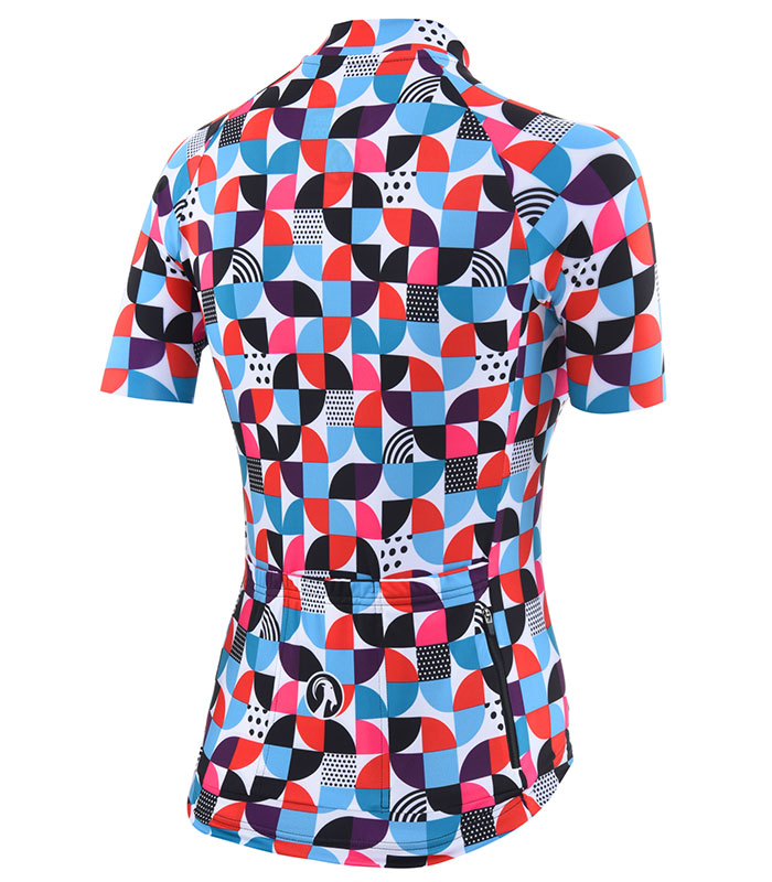 Stolen Goat Cookies women's bodyline cycling jersey rear
