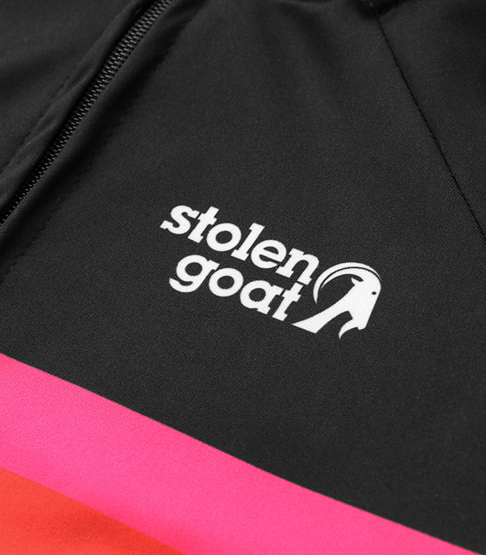 stolen goat element womens Bodyline cycling jersey front logo