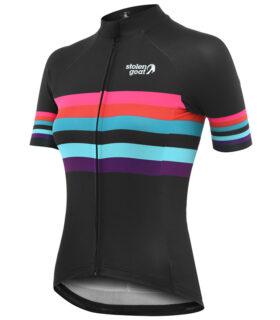 stolen goat element womens Bodyline cycling jersey front