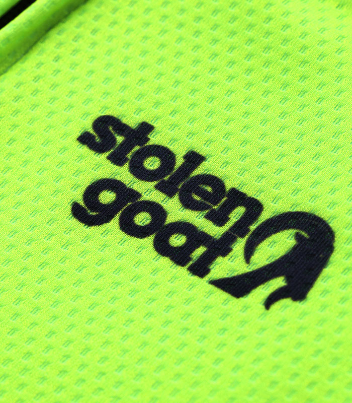 Stolen Goat Core Fitch Green Bodyline Jersey logo