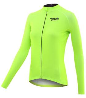 stolen goat fitch green women's core bodyline ls jersey front