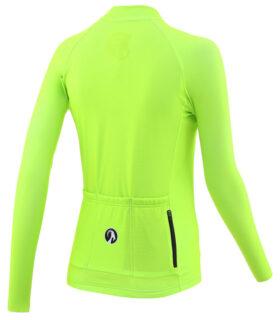 stolen goat fitch green women's core bodyline ls jersey rear